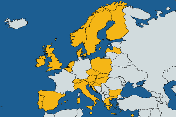 CoinBase Supported Countries Europe